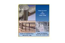 Stainless Steel Crowd Control Rails