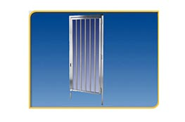 full height ada security gates